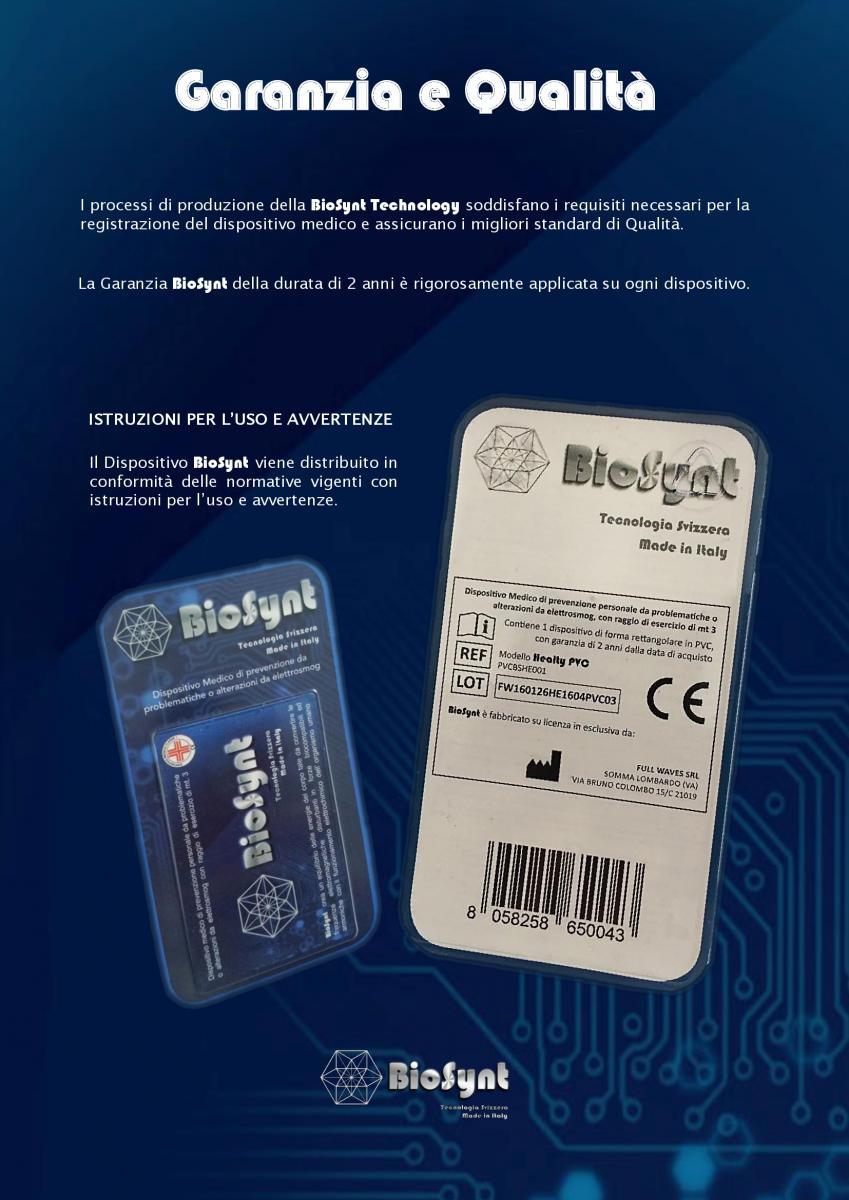 BioSyntGARANZIA E QUALITA'