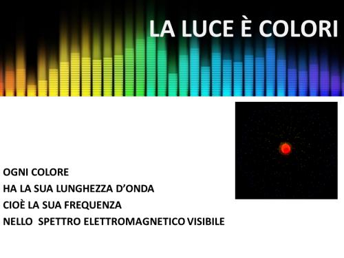 La luce È colori
